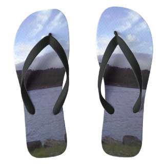 Sea and Nature Flip Flops