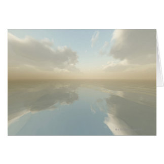 Sea and Sky Card