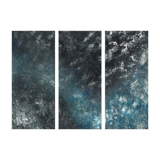 Sea and Space Canvas Prints