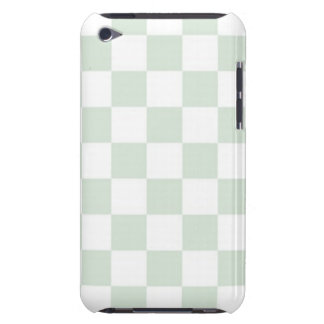 Sea Anemone Gingham Pattern iPod Touch Covers
