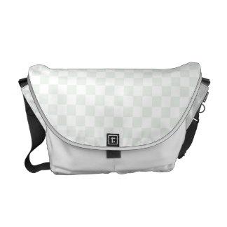 Sea Anemone Gingham Pattern Messenger Bag