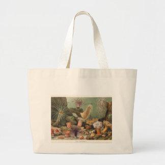 Sea Anemones Large Tote Bag