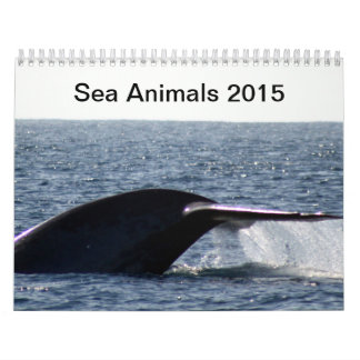 Sea Animals 2015 Calendars