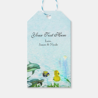 Sea Animals Beach Watercolor Party Custom Favor