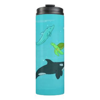 Sea Animals Thermal Tumbler