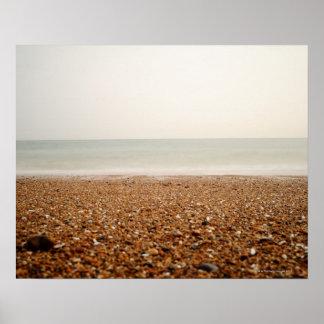 Sea at Brighton Beach 2 Poster