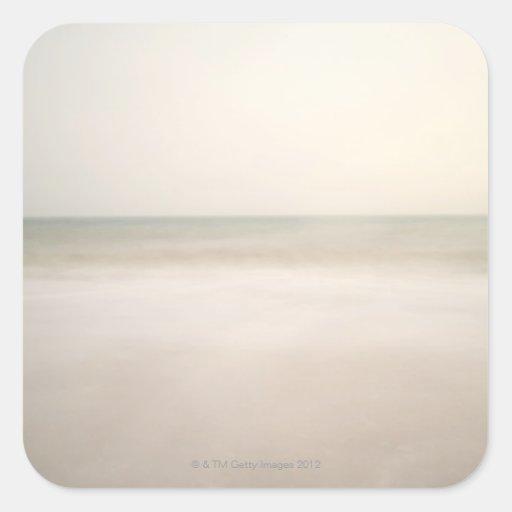 Sea at Brighton Beach 2 Stickers