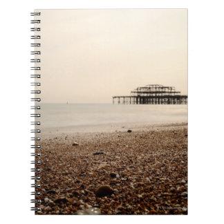 Sea at Brighton Beach Notebook
