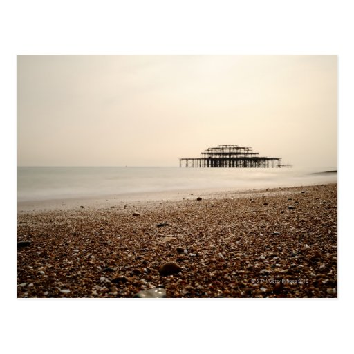 Sea at Brighton Beach Post Cards