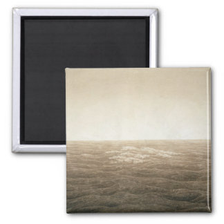 Sea at Sunrise, 1828 Square Magnet
