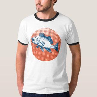 Sea Bass Retro T-Shirt
