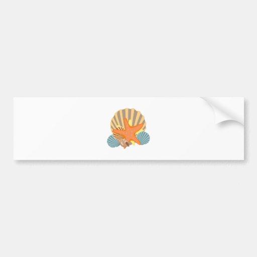 Sea Beauty Bumper Sticker