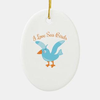 Sea Birds Ornament