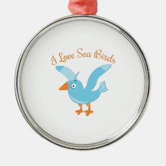 Sea Birds Christmas Ornaments
