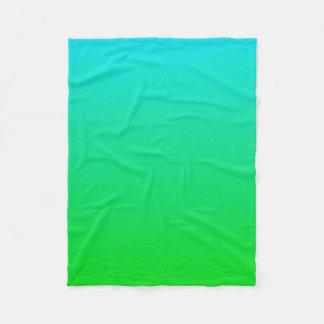 Sea Blue Green Blanket