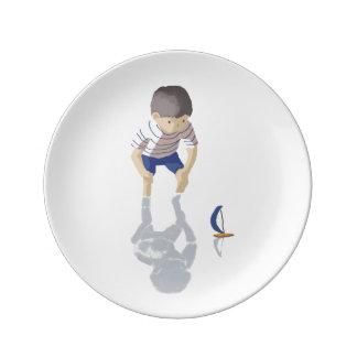 Sea boy plate