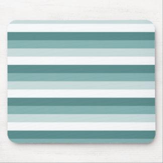Sea Breeze Stripes Mouse Pad