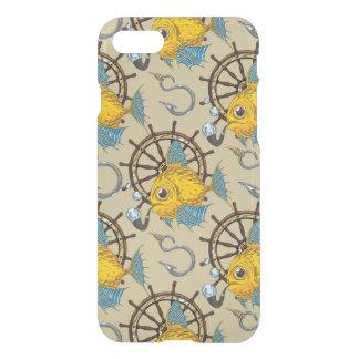 Sea Captain Fish Pattern iPhone 8/7 Case