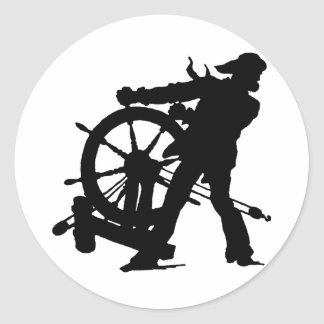 Sea Captain Round Sticker