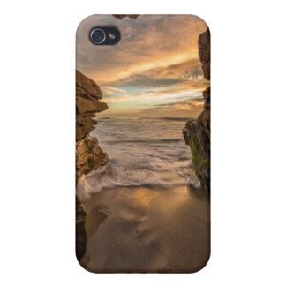 Sea cave at Windansea Beach Case For iPhone 4