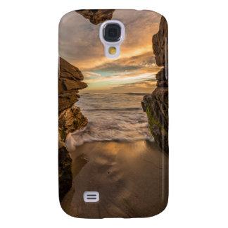 Sea cave at Windansea Beach Galaxy S4 Case