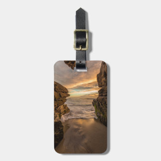 Sea cave at Windansea Beach Luggage Tag