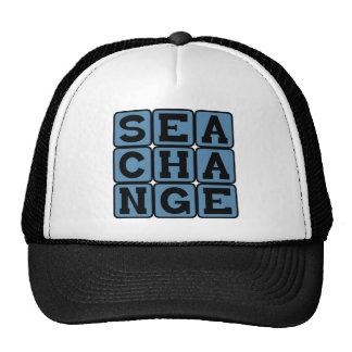 Sea Change Broad Transformation Trucker Hats