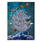 Sea Christmas Tree Card
