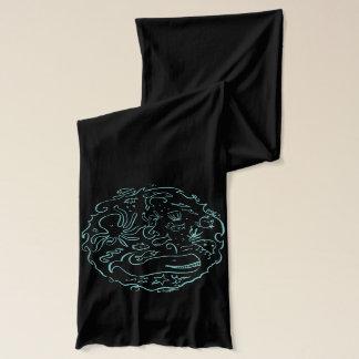 sea circle scarf