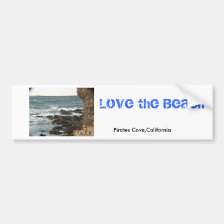 Sea Cliffs Bumper Sticker