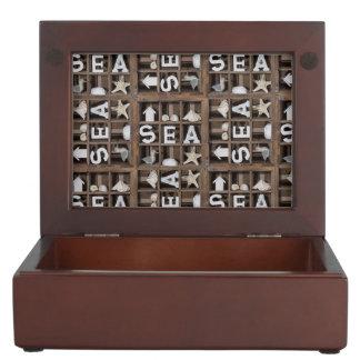 Sea Collection Memory Boxes