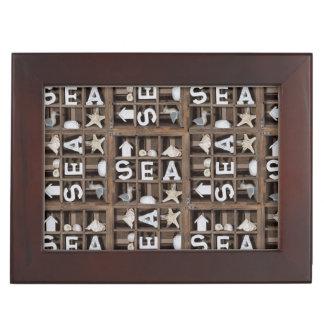 Sea Collection Keepsake Boxes