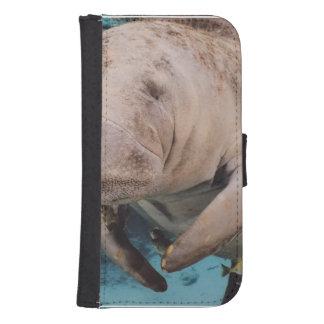 Sea Cow Swimming Samsung S4 Wallet Case