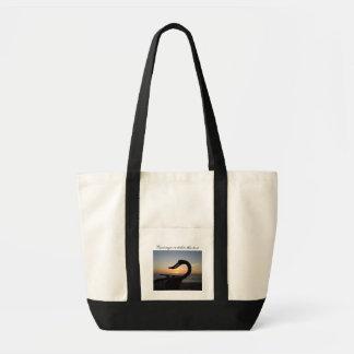 Sea Creature Statue; Customizable Tote Bag