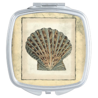 Sea Creatures by the Shore Compact Mirror