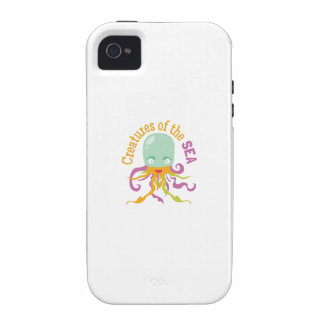 Sea Creatures iPhone 4/4S Cover