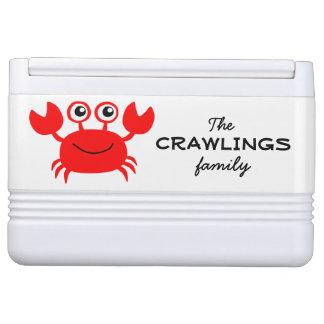 Sea Creatures custom coolers Igloo Cooler