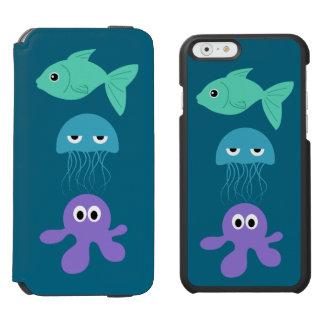 Sea Creatures custom name case wallets Incipio Watson™ iPhone 6 Wallet Case
