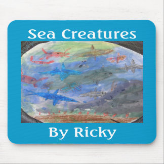 Sea Creatures Mouse Pad