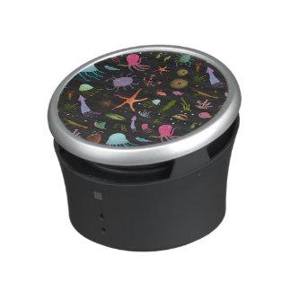 Sea Critters Pattern Bluetooth Speaker