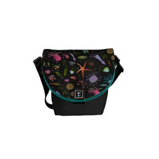 Sea Critters Pattern Commuter Bag