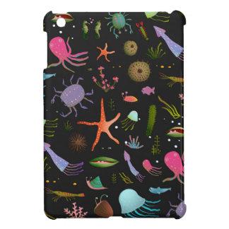 Sea Critters Pattern iPad Mini Covers