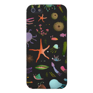 Sea Critters Pattern iPhone 5/5S Cover