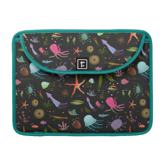 Sea Critters Pattern MacBook Pro Sleeves