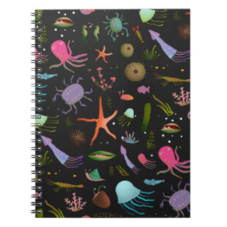 Sea Critters Pattern Notebook