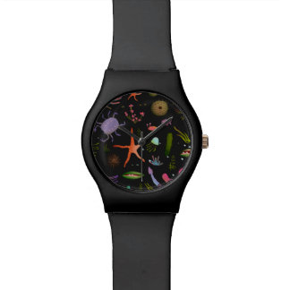 Sea Critters Pattern Watches