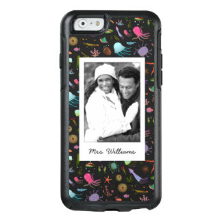 Sea Critters Pattern | Your Photo & Name OtterBox iPhone 6/6s Case