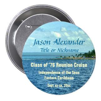 Sea Cruise Custom 7.5 Cm Round Badge