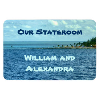 Sea Cruise Custom Rectangular Photo Magnet