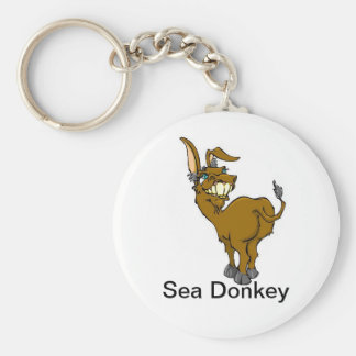 Sea Donkey Key Chain